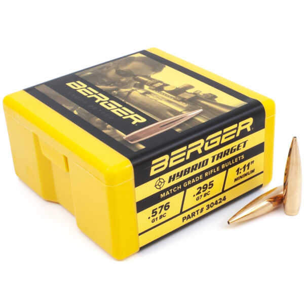 Berger .308 / 30 185 Grain Match Hybrid (100)