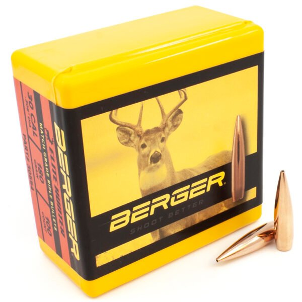 Berger .308 / 30 180 Grain Elite Hunter Bullet (100)