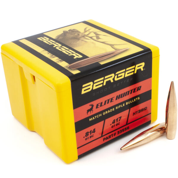 Berger .338 / 338 300 Grain Elite Hunter (100)