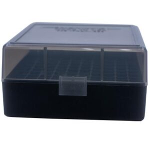 Berrys Ammo Box 222/223 Snap Hinged 100 #005 Smoke 50/Cs
