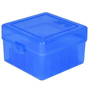 "Berrys Ammo Box 12 Ga 3"" Hinged Top 25 Blue 25/Cs"