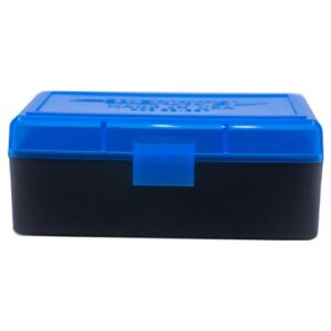 Berrys Box 38/357 Hinged Top 50 Rounds #403 Blue