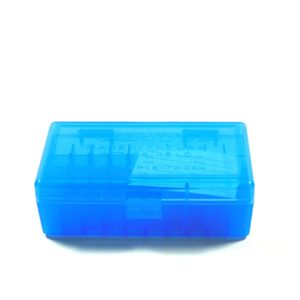 Berrys Ammo Box 44 Spl/Mag Hinged Top 50 Blue 50/Cs