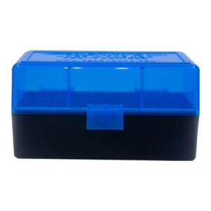Berrys Ammo Box 222/223 Hinged Top 50 #405 (Bl)