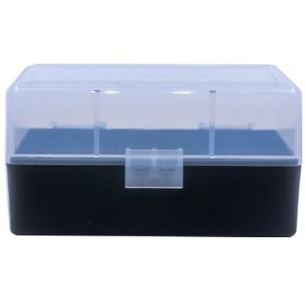 Berrys Ammo Box 222/223 Hinged Top 50 #405 Clear 50/Cs