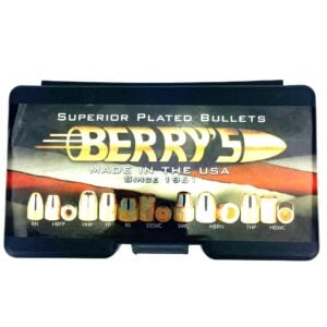 Berrys .356 / 9mm 115 Grain Hybrid Hollow Point (1000)