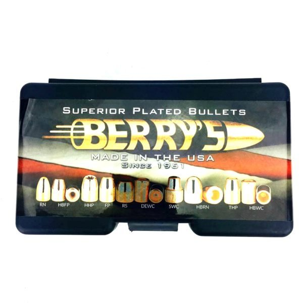 Berrys .401 / 40 155 Grain Hybrid Hollow Point (250)