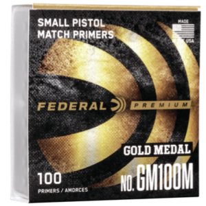 Federal GM100M Small Pistol Match (1000)