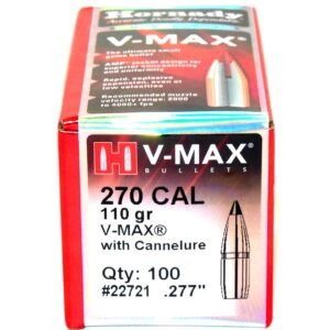 Hornady .277 / 6.8mm 110 Grain V-Max With Cannelure (100)