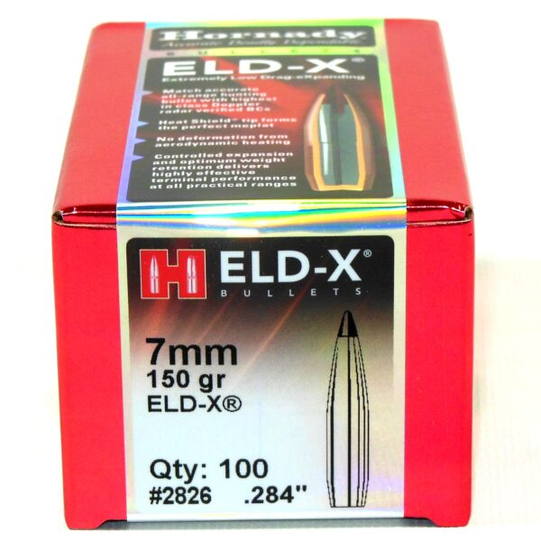 Hornady .284 / 7mm 150 Grain ELD-X (Extremely Low Drag Hunting) (100)