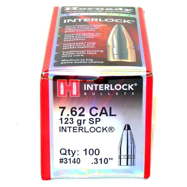 Hornady .310 / 7.62 123 Grain Soft Point (100)