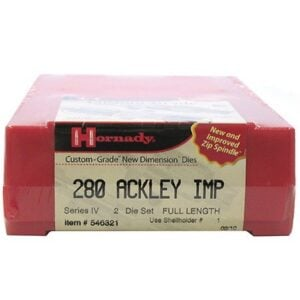 Hornady Dieset 2 280 Ackley Improved (.284)