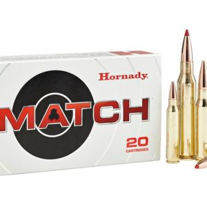 Hornady Ammo 223 Rem 73 Grain ELD-M (Extremly Low Drag) Match (20)
