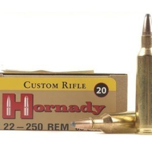 Hornady Ammo 22-250 Rem 60 Grain Soft Point (20)