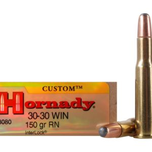 Hornady Ammo 30-30 Win 150 Grain Round Nose (20)