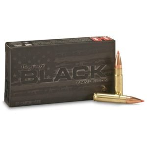 Hornady Ammo 300 Blackout 110 Grain V-MAX Black (20)