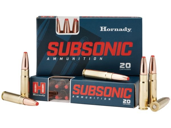 Hornady Ammo 300 Blackout 190 Grain Sub-X (20)