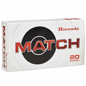 Hornady Ammo 308 Win 168 Grain ELD-M (Extremly Low Drag) (20)
