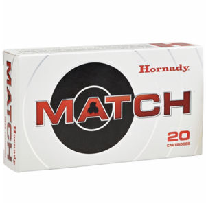 Hornady Ammo 308 Win 168 Grain Hollow Point Boat Tail Match (20)