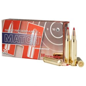 Hornady Ammo 5.56 Nato 73 Grain ELD-M (Extremly Low Drag) Match Superformance (20)