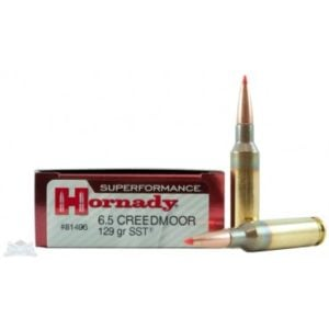 Hornady Ammo 6.5 Creed 129 Grain SST (Super Shock Tip) Superformance (20)