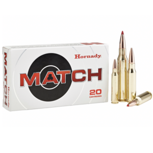 Hornady Ammo 300 Win Magnum 178 Grain ELD-M (Extremly Low Drag) Match (20)
