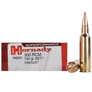 Hornady Ammo 300 RCM 150 Grain SST (Super Shock Tip) Superformance (20)