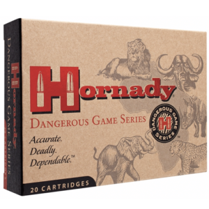 Hornady Ammo 404 Jeffery 400 Grain DGX Bonded (Dangerous Game eXpanding) (20)