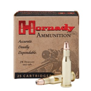 Hornady Ammo 218 Bee 45 Grain Hollow Point (25)