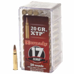 Hornady Ammo 17 HMR 20 Grain XTP Hollow Point (eXtreme Terminal Performance) (50)