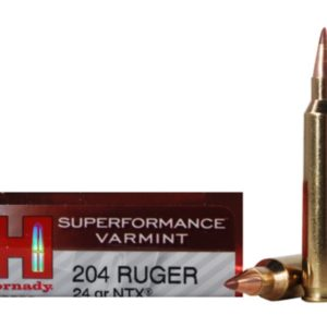 Hornady Ammo 204 Ruger 30 Grain NTX (Lead Free) Superformance (20)