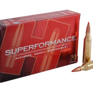 Hornady Ammo 260 Rem 129 Grain SST (Super Shock Tip) Superformance (20)
