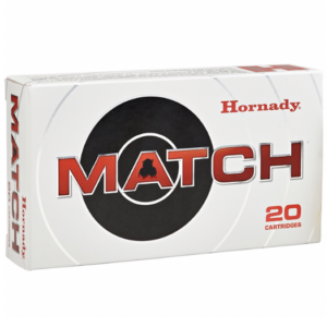 Hornady Ammo 260 Rem 130 Grain ELD-M (Extremly Low Drag) Match (20)
