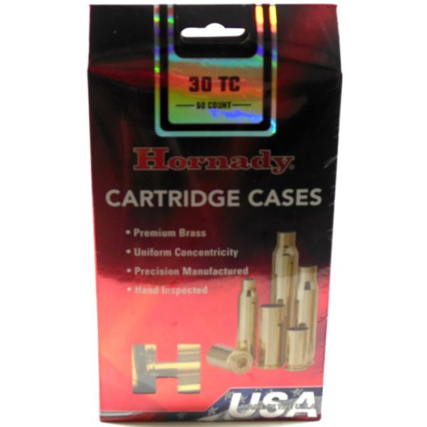 Hornady Brass Unprimed 30 Tc (50)
