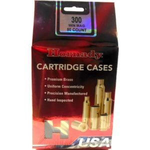 Hornady Brass Unprimed 300 Win Mag (50)