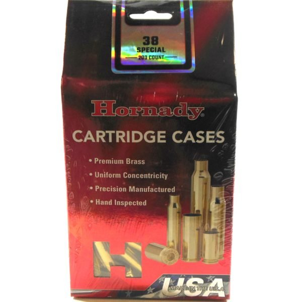 Hornady Brass Unprimed 38 Special (200) 5/Cs