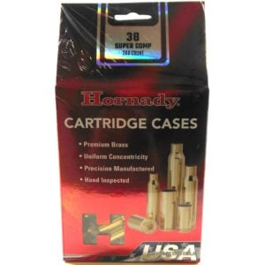 Hornady Brass Unprimed 38 Super Comp (200)
