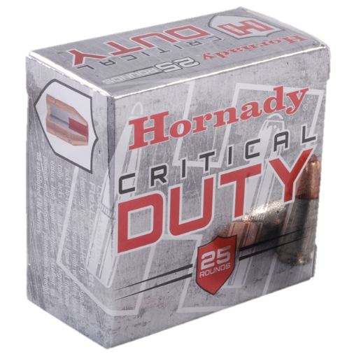 Hornady Ammo 9mm Luger 124 Grain FTX (Flexlock) Critical Duty (25)