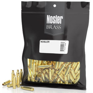 Nosler Unprimed Brass 223 Rem (250) Unprocessed