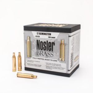 Nosler Unprimed Brass 17 Rem (100)
