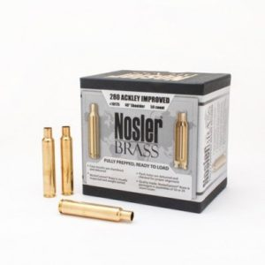 Nosler Unprimed Brass 280 Ackley Improved (50)