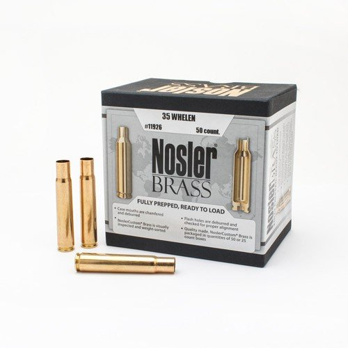 Nosler Unprimed Brass 35 Whelen (25)