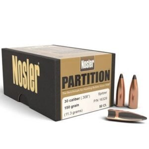 Nosler .308 / 30 150 Grain Spitzer Partition (50)