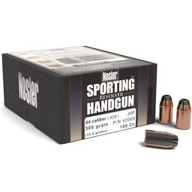 Nosler .429 / 44-40 300 Grain Jacketed Hollow Point (100)