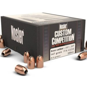 Nosler .355 / 9mm 147 Grain Jacketed Hollow Point (250)