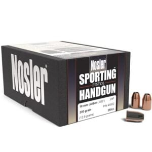 Nosler .400 / 40 200 Grain Jacketed Hollow Point (250)