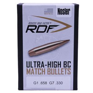 Nosler .264 / 6.5mm 140 Grain Hollow Point Boat Tail RDF (Reduced Drag Factor) (500)