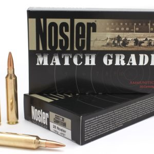 Nosler Ammo 28 Nosler 168 Grain Custom Competition (20)