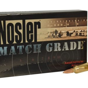 Nosler Ammo 26 Nosler 140 Grain Custom Competition (20)