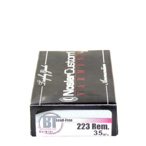 Nosler Ammo 223 Rem 35 Grain Boat Tail (Lead Free) (20)